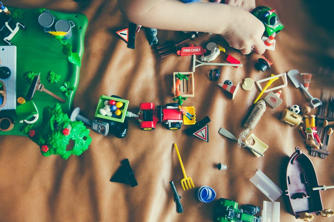 espace jeu bébé salon